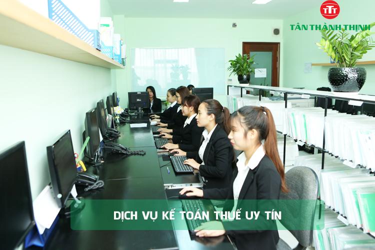 Giới thiệu dịch vụ kế toán thuế Tân Thành Thịnh