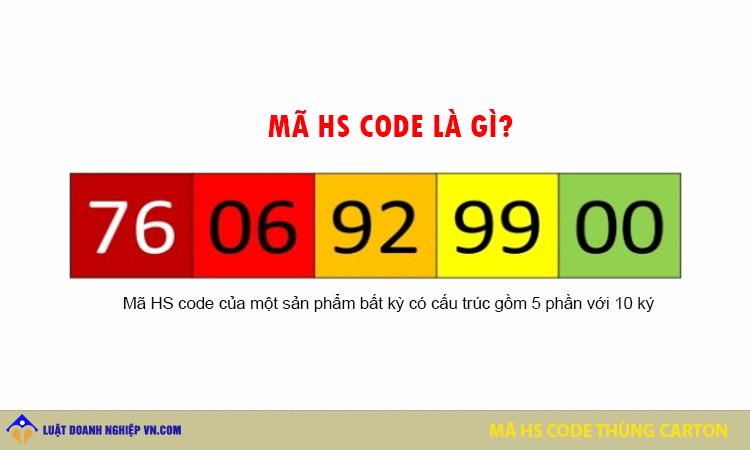 Mã Hs code thùng carton