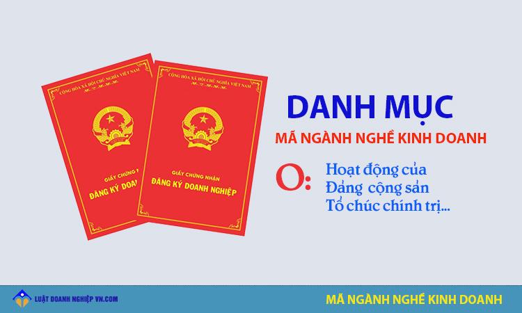 Nhóm ngành hoạt động của Đảng cộng sản